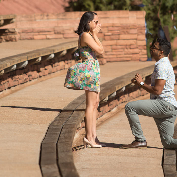 Red Rocks Proposal // Morrison, CO
