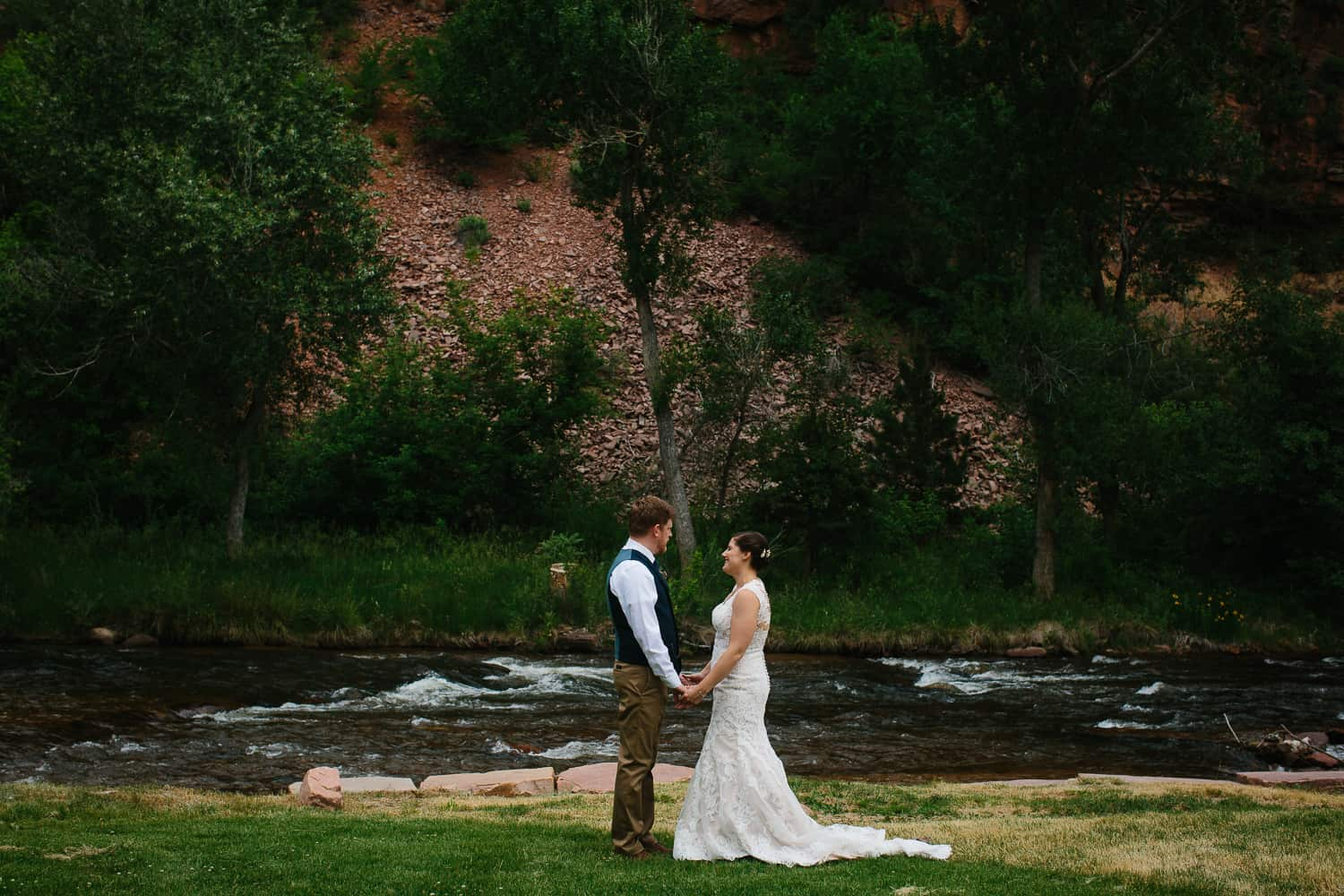 Colleen and Ryan – Married at Planet Bluegrass
