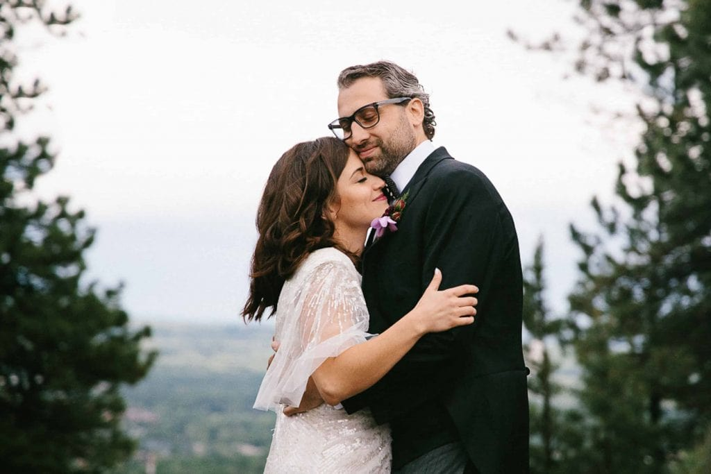 flagstaff house wedding with a ceremony at sunrise amphitheater